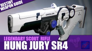 Destiny Best Scout Rifle Review - Hung Jury SR4 - Gel-based Death Toy!