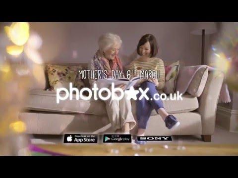 PhotoBox Mothers Day TV Advert - Personalised Cushions, Books & Mugs