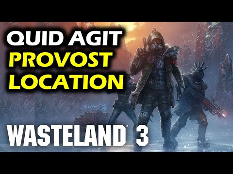 Quid Agit Trophy: Find Provost Location | Warrens | This Wasteland 3 Walkthrough