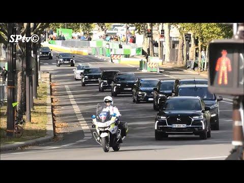 Police : Convoi Composé De 10   Ds7 Crossback
