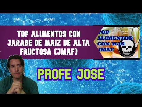 TOP ALIMENTOS CON JARABE DE MAIZ DE ALTA FRUCTOSA (JMAF)