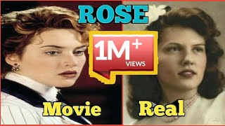 real vs movie rose real life titanic passengers and crew rms titanic ship by omg entertainment