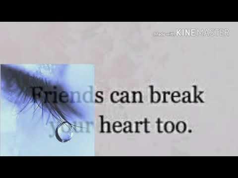 Broken Friendship Sad Status1 Youtube