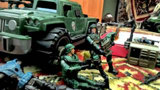 Война солдатиков 1 серия|Нападение Цикад.