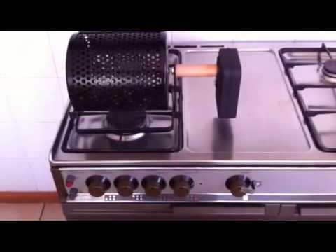 Tosta castagne per fornello a gas youtube for Fornello elettrico ikea