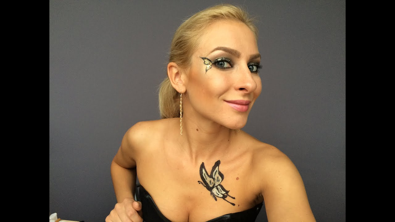 Фейс и боди арт в макияже