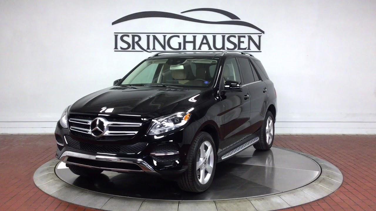 2018 Mercedes-Benz GLE 350 4MATIC in Black - 004566A - YouTube