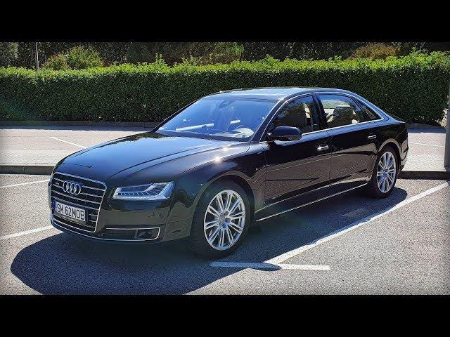 Prezentare Audi A8 L 4.2 TDI 385 HP - 4K