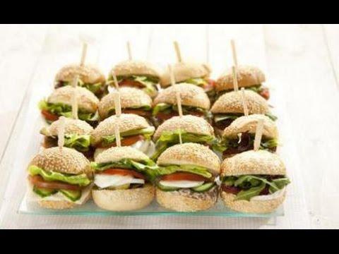 mali sendviči za rođendan MIni sendvici Recept   YouTube mali sendviči za rođendan