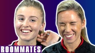 It Gave Me Nightmares for 6 Months Straight! | Leah Williamson & Jordan Nobbs | Roommates | England