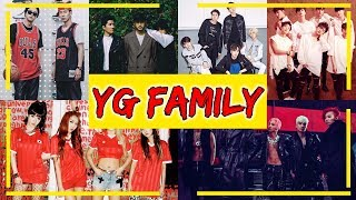"""YG FAMILY"" (ALL ARTIST UNDER YG ENTERTAINMENT)"