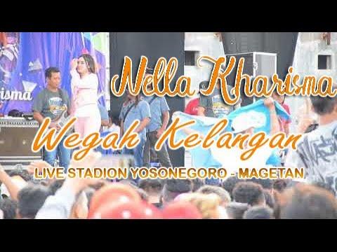 Nella Karisma - wegah kelangan ( Lagista live Stadion Yosonegoro 15 Juli 2018 )