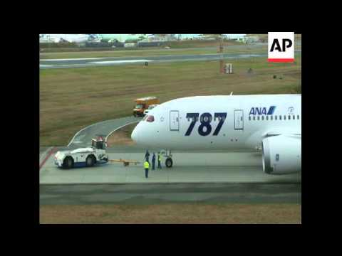 Signed, sealed and delivered, the first Boeing 787 took off from Everett, Washington on Tuesday in t