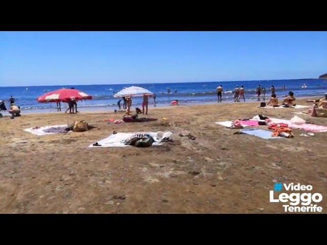 Tutti in spiaggia a Tenerife