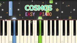 【ピアノ ゆっくり】COSMOS(コスモス)合唱曲6月22日