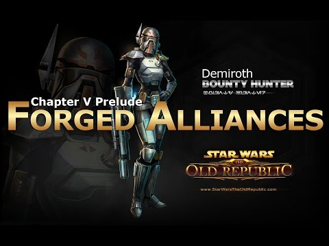 SWTOR: Chapter 5 Prelude - Forged Alliances: Bounty Hunter Story