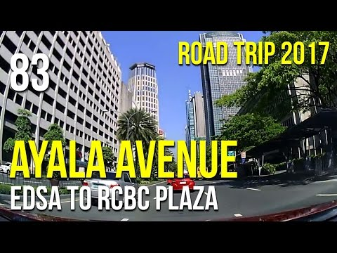Road Trip #83 - Ayala Avenue 2017 Tour