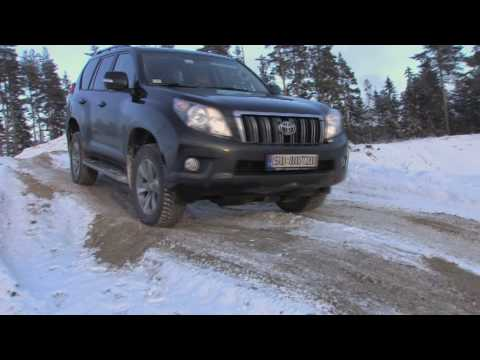 New Toyota Land Cruiser tested offroad in Norway