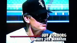 White Sox Uniforms Debut - Summer 1990 - Jeff Torborg & Tom Paciorek