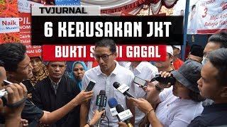 6 BUKTI KEH@NCURAN JAKARTA , Bukti Sandiaga Uno Gagal