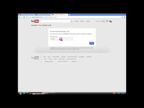 How to extend youtube time limit
