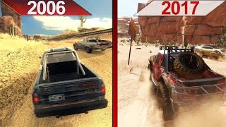 SBS Comparison | FlatOut 2 (2006) vs. FlatOut 4: Total Insanity (2017) | ULTRA | PC