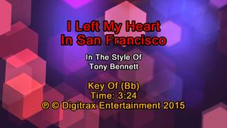 Tony Bennett - I Left My Heart In San Francisco (Backing Track)