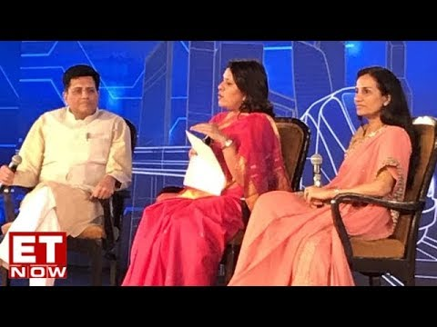 Fireside Chat Between Piyush Goyal & Chanda Kochhar At IEC 2018   Full Interview