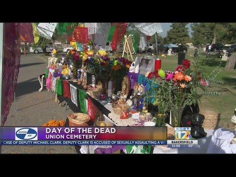 Historic Bakersfield Cemetery Hosts Dia De Los Muertos Event
