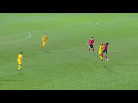 AFC U-23 Championship - Semi Final - Australia U-23 V Korea Republic U-23