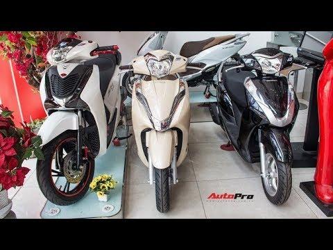 Tin nhanh 24/7 – Các loại xe máy mới nhất ở Việt Nam 2018.