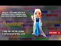 MASCOT COSTUMES RENTALS | BIRTHDAY PARTY CHARACTERS | RENT KIDS PARTIES CHARACTERS