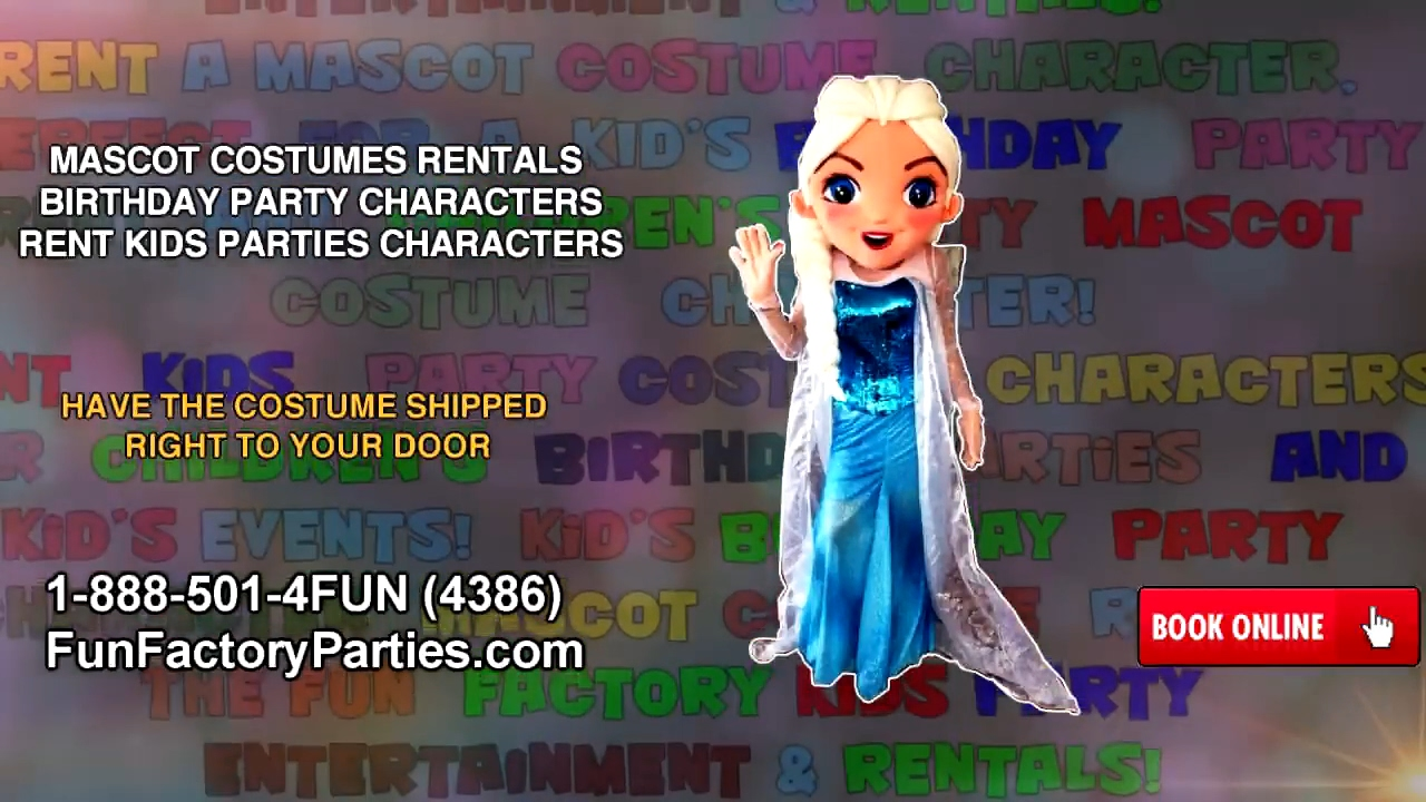 Bubble guppies character rental - Mascot Costumes Rentals Birthday Party Characters Rent Kids Parties Characters