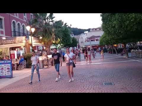 Dionysios Solomos Square in Zakynthos Town (Greece)