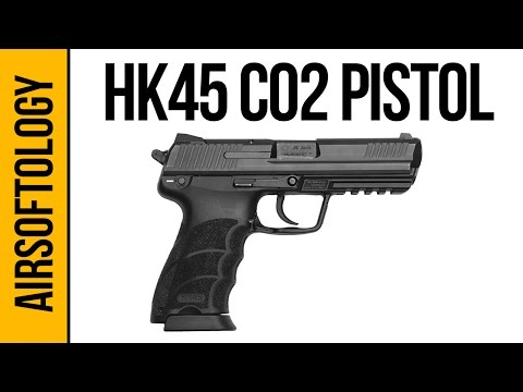 Elite Force HK45 CO2 Pistol - Performance for under $60? | Airsoftology Review