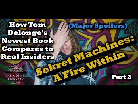 (Wow)Tom Delonge's Newest Book - Sekret Machines: A Fire Within Pt.2 Mp3