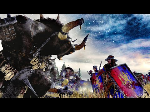 BEASTMEN ⚔️ BRETONNIA - Total War WARHAMMER 2 Cinematic Battle Movie |