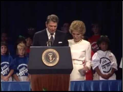 Nancy Reagan at the Republican Salute to the First Lady on August 15, 1988