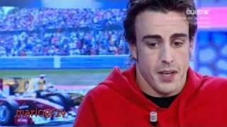 Fernando Alonso en El Hormiguero 1-4 14/9/2010