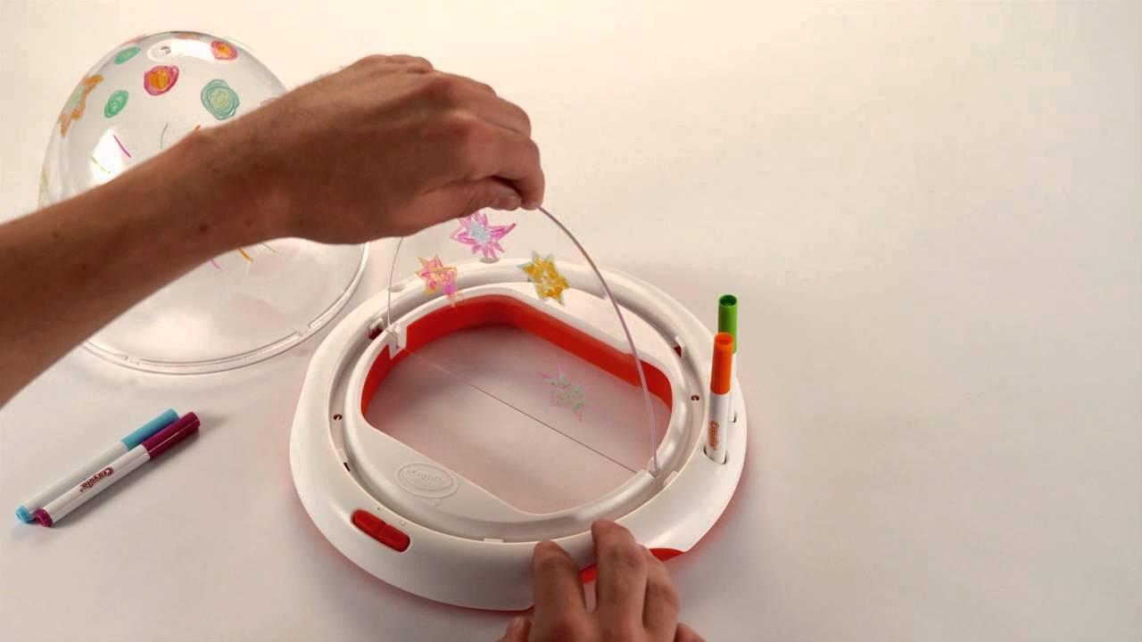 Crayola dome light designer demo