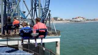 Texas Star Flyer (HD POV) Galveston Island Historic Pleasure Pier