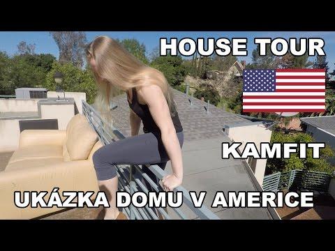 Jak se žije v Americe! House tour. Ukázka domu v Los Angeles.