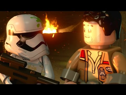 LEGO Star Wars: The Force Awakens Walkthrough Part 2 - Assault on Jakku