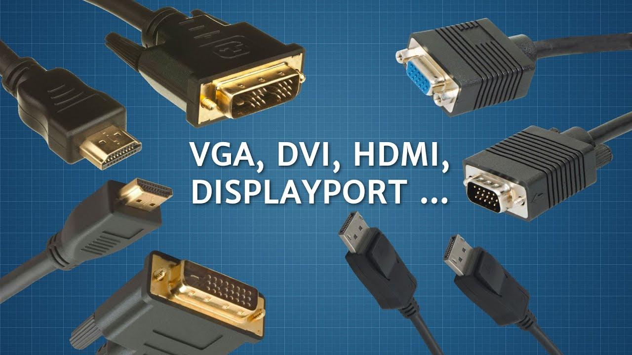 podłącz VGA