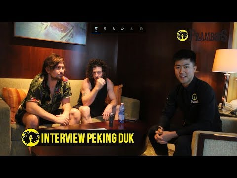 EXCLUSIVE INTERVIEW : PEKING DUK