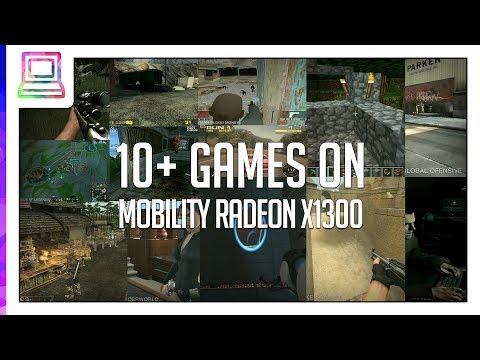 RADEON MOBILITY X1300 WINDOWS 7 X64 TREIBER