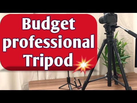 Unboxing & Review of OSAKA VCT 880 Tripod with Bag for Digital SLR & Video Cameras