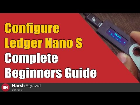 How To Configure Ledger Nano S Bitcoin Hardware Wallet - Complete Beginners Guide