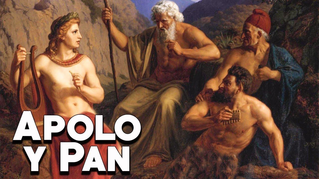 Pan y Apolo: Una Dis**** Musical - Mitología Griega - Mira la Historia