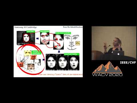 WACV20: Keynote Talk: Maja Pantic, Imperial College London and SAIC